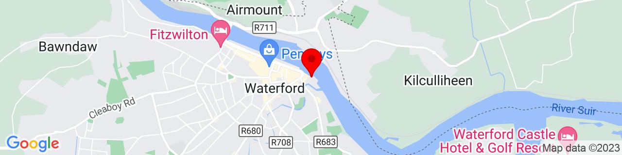 Google Map of 52.26006388888889, -7.103638888888889