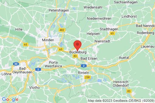 Karte Bückeburg