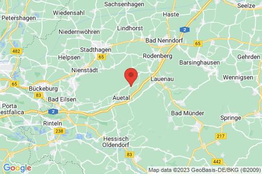 Karte Auetal Klein Holtensen