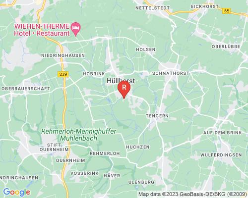 Google Karte von Rohrreinigung Hüllhorst