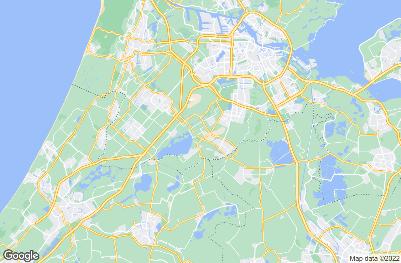 Google Map of Aalsmeer