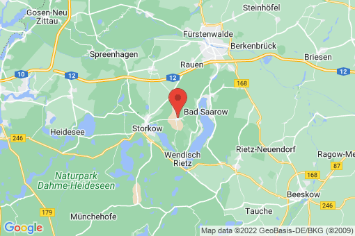 Karte Reichenwalde Reichenwalde