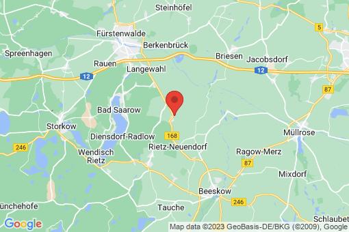 Karte Rietz-Neuendorf Pfaffendorf