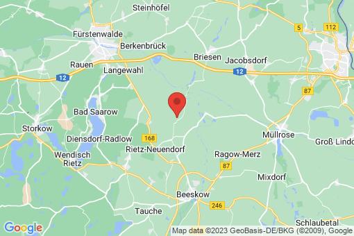 Karte Rietz-Neuendorf Sauen