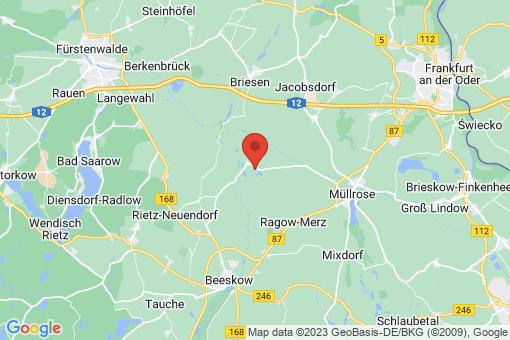 Karte Rietz-Neuendorf Neubrück (Spree)