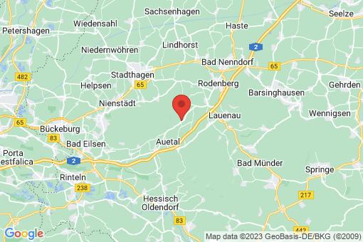 Karte Auetal Schoholtensen