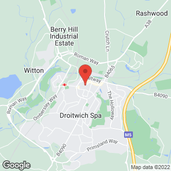 Map of wilko Droitwich at Unit 38 Salter Shopping Centre, Droitwich,  WR9 8HE