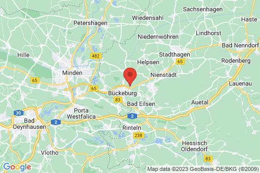 Karte Bückeburg Müsingen