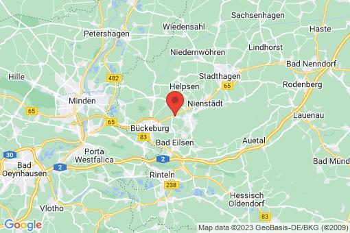 Karte Obernkirchen Vehlen