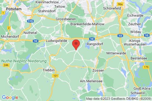 Karte Groß Schulzendorf