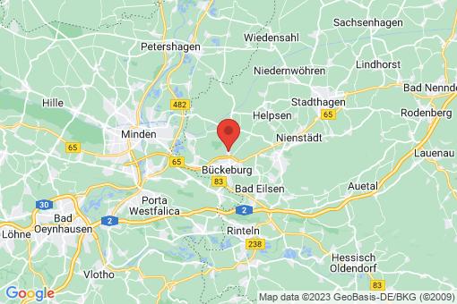Karte Bückeburg Scheie