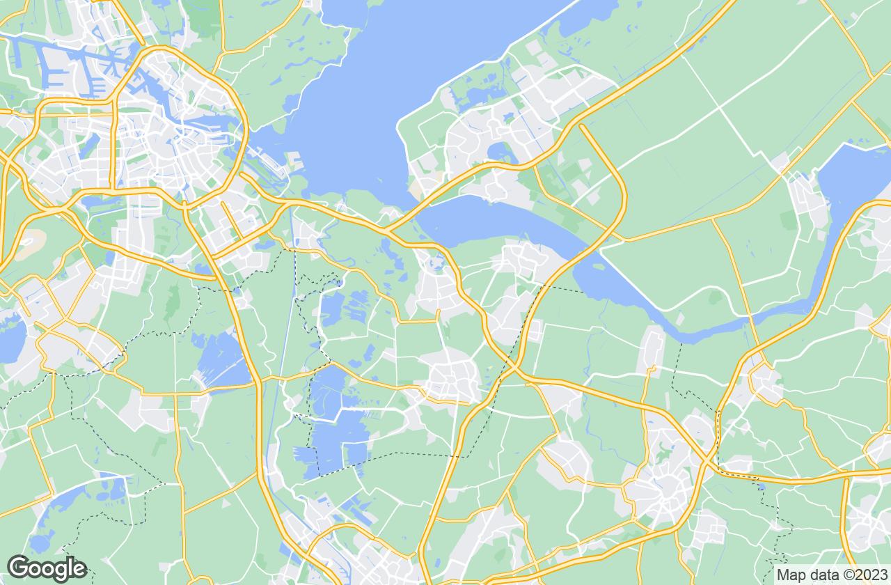 Google Map of Bussum