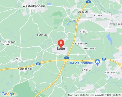 Google Karte von Rohrreinigung Lotte