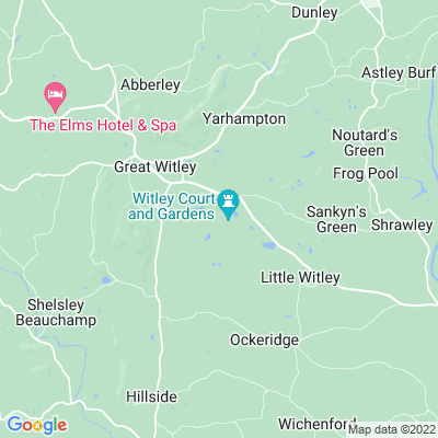 Witley Court Location