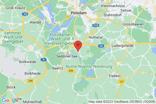 Karte Wildenbruch