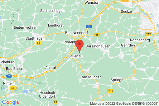 Karte Lauenau Feggendorf