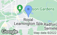 Map of Leamington Spa, Warwickshire