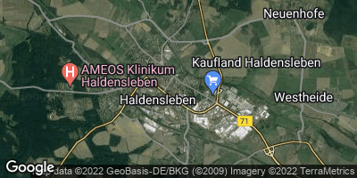 Google Map of Haldensleben