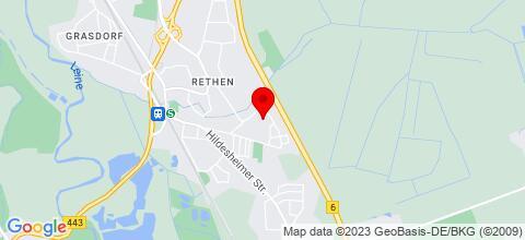Google Map für Monteur-Messezimmer in Messenähe Hannover