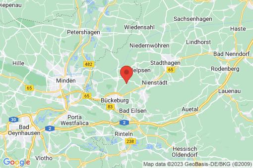 Karte Bückeburg Achum