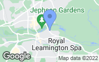 Map of Royal Leamington Spa, Warwickshire