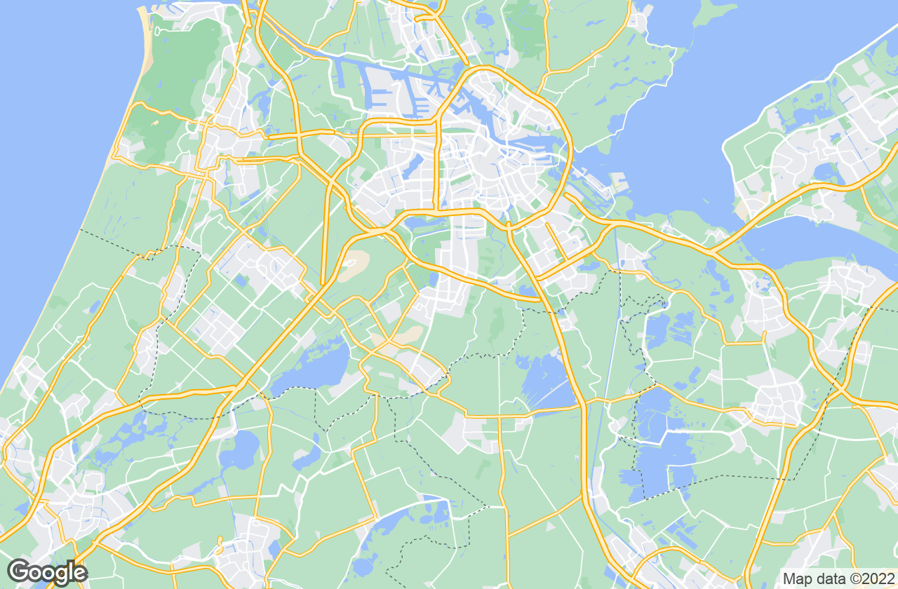 Google Map of Amstelveen