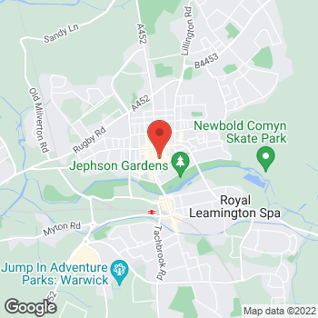 Map of wilko Leamington Spa at Unit 13 - 16 Lower Mall, Leamington Spa,  CV32 4XT