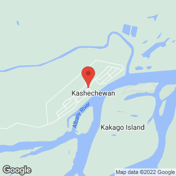 Map of Tim Hortons at Kashechewan, Kashechewan, ON P0L 1S0