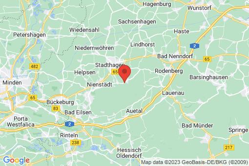Karte Stadthagen Hörkamp-Langenbruch
