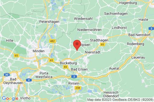 Karte Seggebruch Tallensen-Echtorf