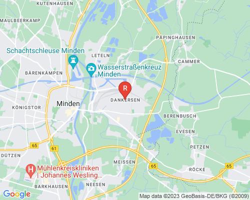 Google Karte von Rohrreinigung Minden