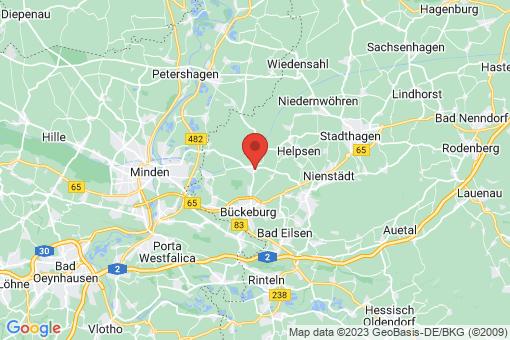 Karte Bückeburg Warber