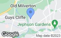Map of Leamington Spa, Warwickshire