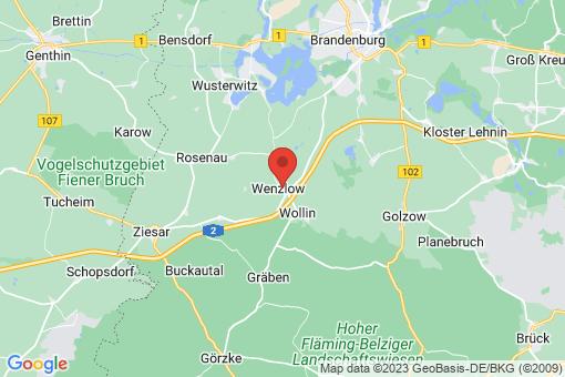 Karte Wenzlow