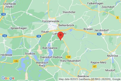 Karte Rietz-Neuendorf Alt Golm