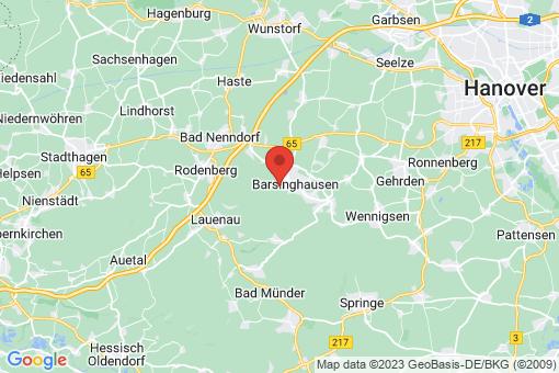 Karte Barsinghausen