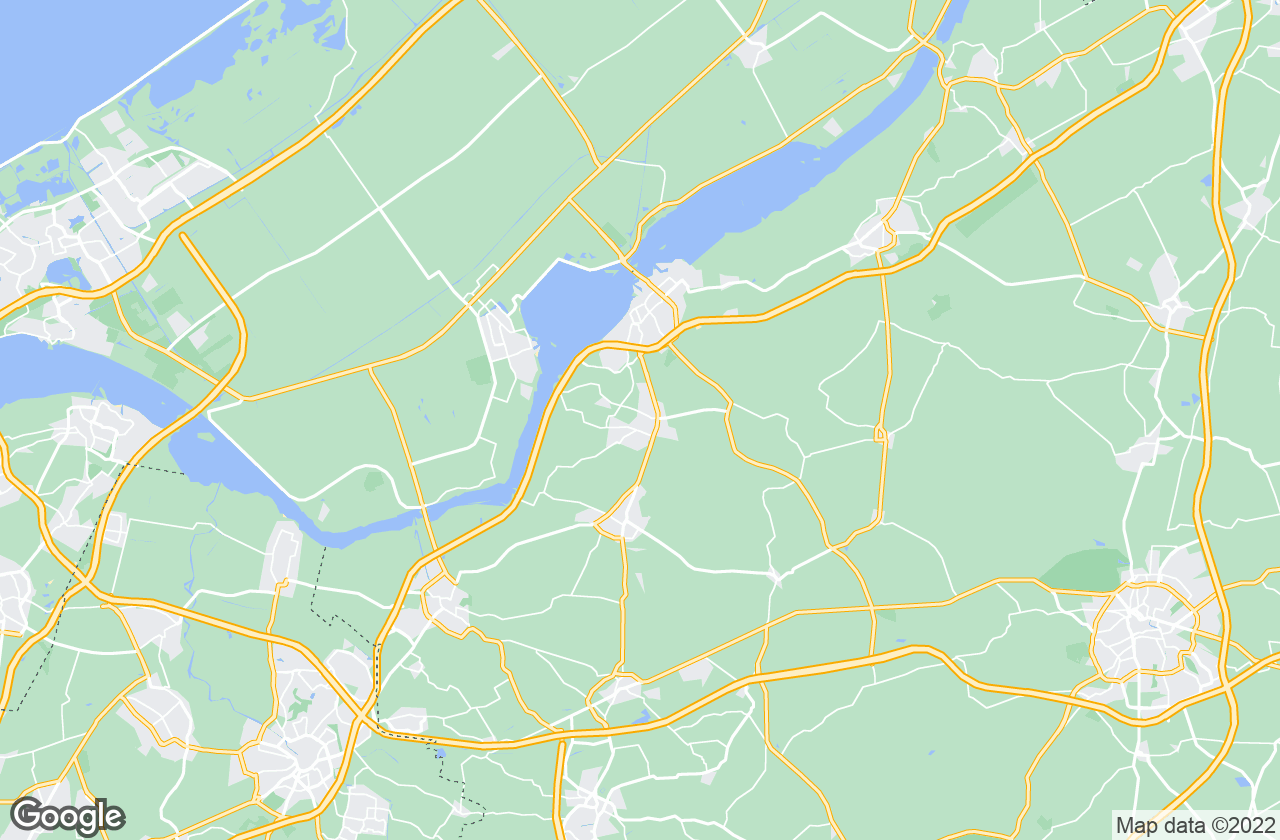 Google Map of Ermelo