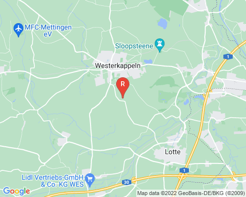 Google Karte von Rohrreinigung Westerkappeln