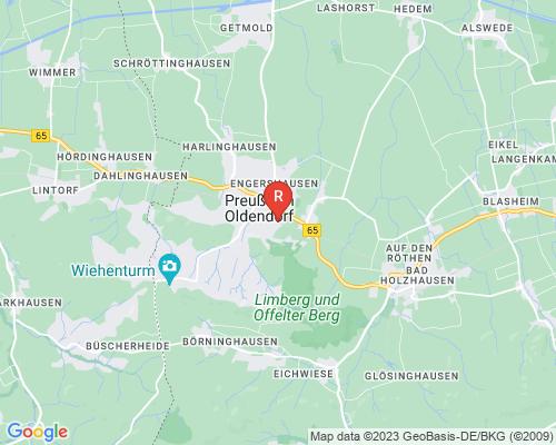 Google Karte von Rohrreinigung Preußisch Oldendorf