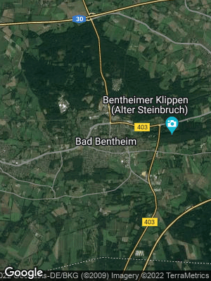 Google Map of Bad Bentheim
