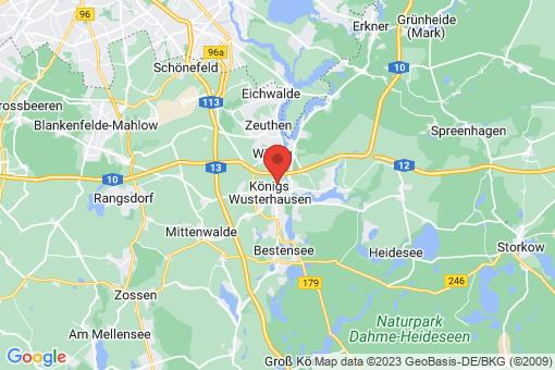 Karte Königs Wusterhausen