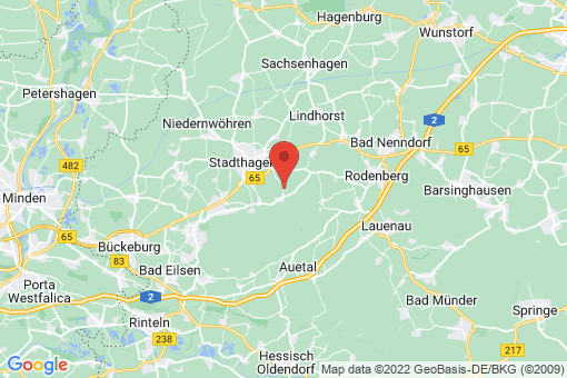 Karte Stadthagen Obernwöhren
