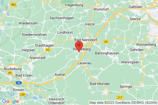 Karte Rodenberg Rodenberg