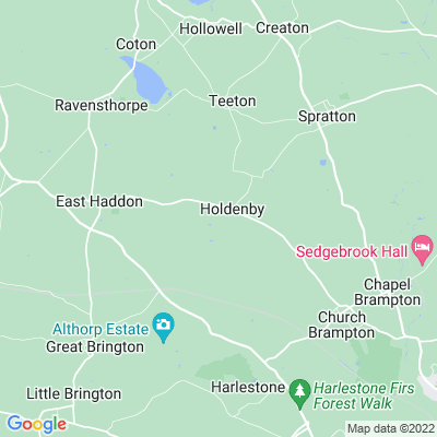 Holdenby House Location