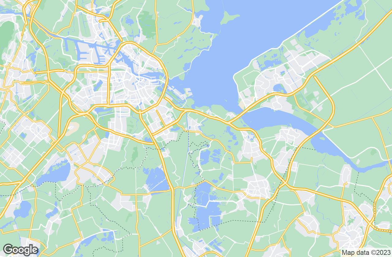 Google Map of Weesp