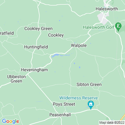 Heveningham Park and Gardens Location