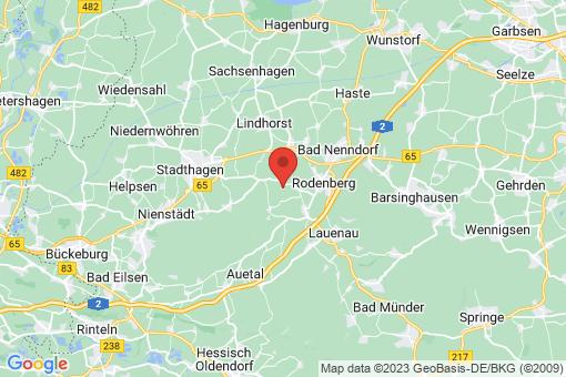Karte Apelern Groß Hegesdorf
