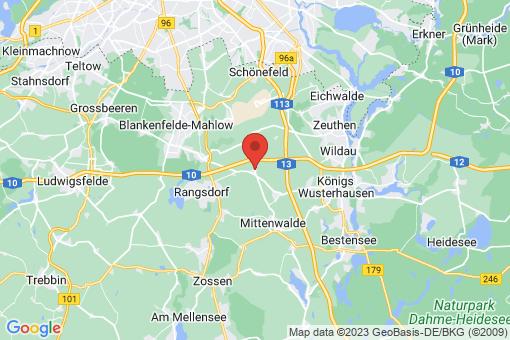 Karte Brusendorf