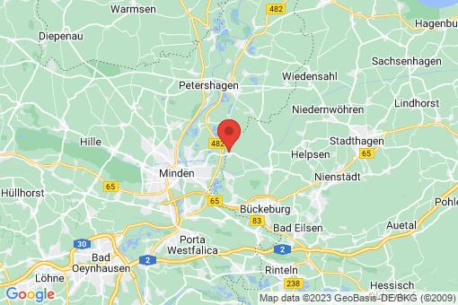Karte Bückeburg Cammer