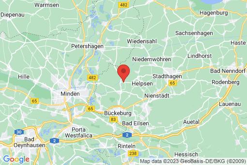 Karte Bückeburg Rusbend